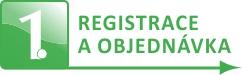 Registrace a objednávka